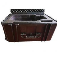 Waterproof Lockable Plastic Tool Box , Black Plastic Lockable Wheeled Tool Box Manufactures