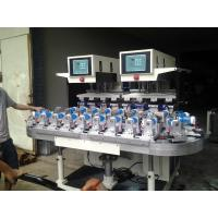 CE Factory Price 6 Colors Semi-auto Rotary Pad Printer for Different Size Perfume Bottle Printing