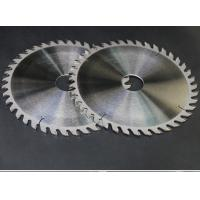 Chromium Coated Thin Kerf Saw Blade , Table Saw Router Blade Non Deformation Manufactures