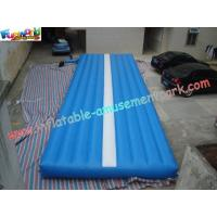 Inflatable Sports Game Air Tumble Track, Professional Gym Tumble Track For Tumbling Sports Manufactures