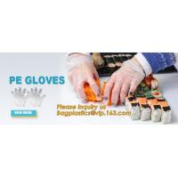 Disposable PE elbow length gauntlets gloves,disposable plastic PE glove with