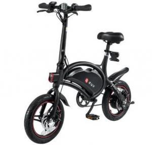 www.yolcart.com F-wheel DYU D3 250W 36V Folding Electric Bike Aluminum Alloy EU Plug 14 Inch Wheel Tire Max 50KM Mileage Manufactures