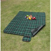 Customize Pattern of 100% polyester waterproof picnic blanket for bulk sale Manufactures