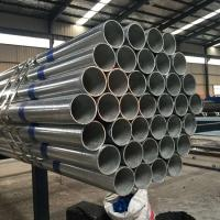 4 Inch Black Steel Tube / Black Steel Threaded Pipe Strong Structure Manufactures