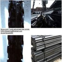 Israel T post/Euro Fence Post/black fence post/galvanzied fence post for sale