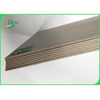 Quality AAA / AA Plain Grey Board Waste Paper As Material To Packing 600 * 600MM for sale
