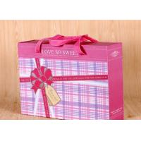 Handmade Gift Packing Box Rectangle Shape , Paper Gift Box  240*200*85 mm Size Manufactures