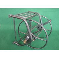 High Strength Metal Garden Hose Reel Corrosion Resistant Surface Painting Manufactures