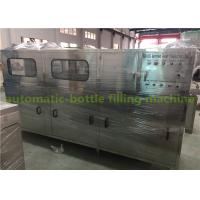 Automatic Mineral Water 5 Gallon Bucket Filling Machine With PLC Control Manufactures