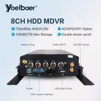 High Stable 8ch DVR AHD 720P 4G GPS Tracking On Mobile Phone Computer APP Manufactures