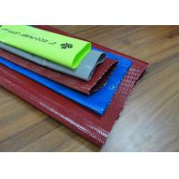 Agricultural PVC Lay Flat Discharge Hose / Layflat PVC Water Delivery Hose Manufactures