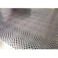 Customzied Abstract Look Perforated Aluminum Panels For Building Decoration