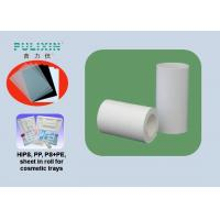 China High Density Polyethylene Plastic Sheet Roll With High Strength , Heat Resistant on sale