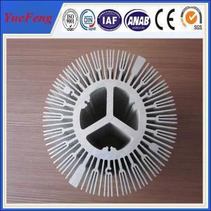 Quality extruded aluminium alloy profile aluminum radiator, trapezoid radiator aluminium for sale