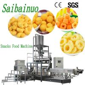 China Jinan Saibainuo Corn Puff Cheese Ball Snacks Food Making Machinery Production Line on sale