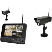 Quality 2 Camera 1 Receiver Kit Video Surveillance Camera Systems With Alarm Function for sale