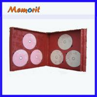Customised 700MB/ 8.5GB CD DVD Replication With Cardboard Book Shape Packing Manufactures