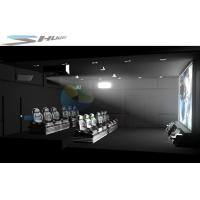 Quality 3D / 4D / 5D / 6D / 7D Movie Theater Cinema System With 3 DOF Motion Chair for sale