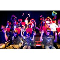 Fantastic 7D Cinema System With Adventure Movies , Flexible Motion Chairs Manufactures
