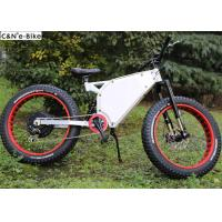Quality 48V 20Ah Electric Mountain Bikes With Fat Tires And Lithium Ion Battery for sale