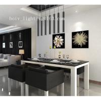 Led Hanging Lights Iron Cylinder Shaped Seven Colors 400 400 1000mm For Sale Of Boivlighting Com
