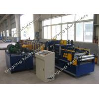High Speed C Channel Roll Forming Machine , Customized Roll Forming Machines Manufactures