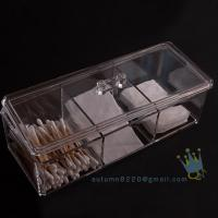 China wholesale acrylic makeup organizer with drawers on sale