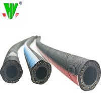Hydraulic hose pipe customized sizes flexible hydraulic pipe DIN EN857 1SC Manufactures