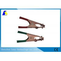 Spring Loaded Mig Earth Clamp , Arc Welding Clamps 500A Alligator Clip Style Manufactures