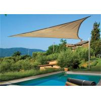 HDPE Triangle Outdoor Sun Shade Sail Canopy For Carport And Pool Manufactures