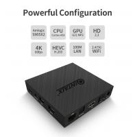 Android 8.1 Smart TV Box OEM Android 4K 3D QINTAIX Q9S PRO Amlogic S905X2 4G 64G Android HD quad core tv box
