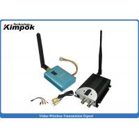China 10KM LOS 2.4Ghz FPV Video Transmitter , Wireless Video Sender For UAV Transmission on sale