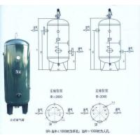 Steel Air Compressor Tank Vertical Type , Small Portable Compressed Air Tank Manufactures