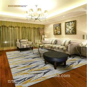 China Comfortable Handmade Woollen Carpet 80% New Zealand Wool 20% Nylon on sale
