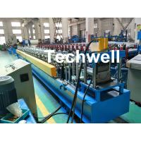 PLC Control System Cold Roll Forming Machine For Making Rainwater Gutter Roll Forming Machine Manufactures