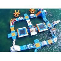 China Safe Ocean Inflatable Water Park / Commercial Floating Water Playground on sale