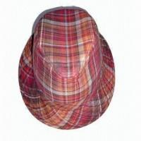 Women's Hat with Laminated Polyester Lining Manufactures