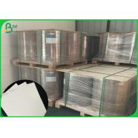 300 - 400 GSM Gloss Paper Roll / Glossy Coated Art Paper For Book Cover Manufactures