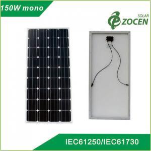 China 150W 18V PV Mono-Crystalline Solar Panels for Charging 12V Battery on sale