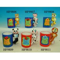 Durable Household Ceramics Cartoon Coffee Cup With Panda Animals Handle 12 X 8 X 13 Cm Manufactures