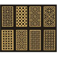 Customized Carved MDF DIY Room Divider Panels For Interior / Meeting Room Manufactures