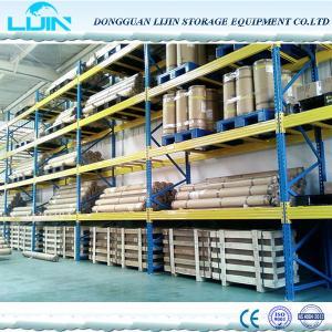 China Cargo Storage Heavy Duty Pallet Racks , Customized Industrial Metal Shelving on sale