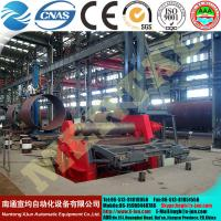 HOT!MCLW12CNC-3x1000 Rectangular and shaped special CNC four rollers plate rolling machine Manufactures