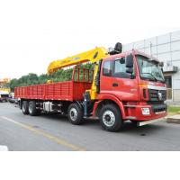 14 Ton truck mounted telescopic boom crane Driven By Hydraulic , 35 TM Manufactures