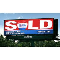 P10 1r1g1b Outdoor Full Color Led Billboard Display Screen 8000cd / Sq.m Manufactures