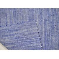 China Fashion Classic Design Yarn Dyed Woven Fabric With Soft Stripe Pattern on sale