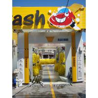 China Automaitc tunnel car washing equipment with best conveynor which can wash 600-800 cars per day on sale