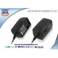 Interchangeable 12V 1A  Universal AC DC Adapters With EU US UK AU Plug Manufactures