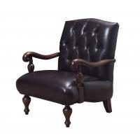 Quality Genuine leather Cow split and Cottom Fabric with High density sponge Classic for sale