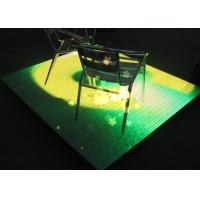 China Professional Outdoor P9mm LED Disco Dance Floor Led Video Display Panels on sale